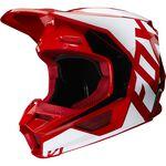 _Casco Fox V1 Prix Flame Rosso | 25471-122 | Greenland MX_