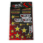 _Adesivi Vari Rockstar 4MX | 01KITA606R | Greenland MX_