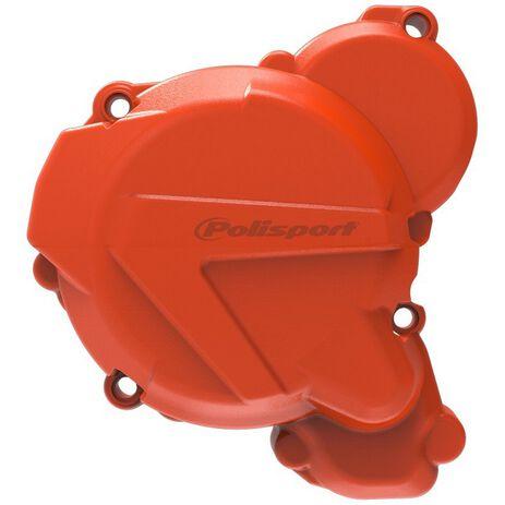 _Protezione Coperchio Avviamento Polisport KTM EXC 250/300/TPI 17-.. TE 250/300/TPI 17-.. Arancione | 84675000022 | Greenland MX_