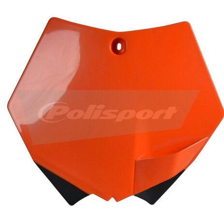 _Piastra Frontale Polisport KTM SX/ SXF 07-12 Arancione   8664400001   Greenland MX_