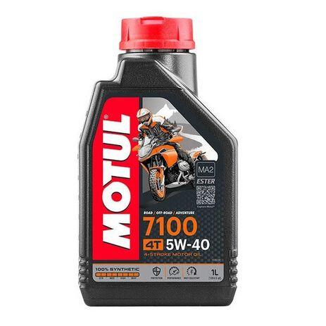 _Olio Motore Motul 7100 5W-40 4T 1L | MT-104086 | Greenland MX_