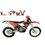 _Kit Adesivi Blackbird KTM EXC/EXC-F 08-11 SX/SX-F 07-10 | 2527L | Greenland MX_