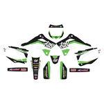 _Kit Completo Adesivi Kawasaki KX 450 F 12-15 Two Two | SK-KX4501215TWO-P | Greenland MX_