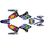 _Kit Completo Adesivi Yamaha YZ 125/250 15-20 VR 46 Edition | SK-YYZ1252501520VR-P | Greenland MX_
