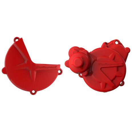 _Protezione Copercchio Frizione e Accensione Kit Polisport Gas Gas EC 250/300 17-.. | 91003-P | Greenland MX_