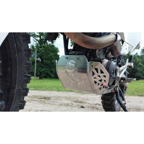 _Paracoppa con Protezione Scarico e Biellette P-Tech  KTM 690 End. 08-19 HVA 701 End. 14-19 | PK010 | Greenland MX_