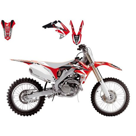 _Kit Adesivi Blackbird Dream 4 Honda CRF 250 04-09 | 2135N | Greenland MX_