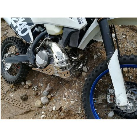 _Paracoppa con Protezione Scarico P-Tech KTM EXC 250/300 HVA TE 17-19 | PK005 | Greenland MX_