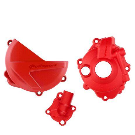 _Protezione Copercchio Frizione e Accensione Kit Polisport Honda CRF 250 R 18-..   90958-P   Greenland MX_
