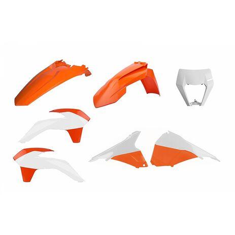 _Kit Plastiche Polisport Restyling KTM EXC/EXC-F/XC-W/XCF-W 14-16 OEM | 90878-P | Greenland MX_