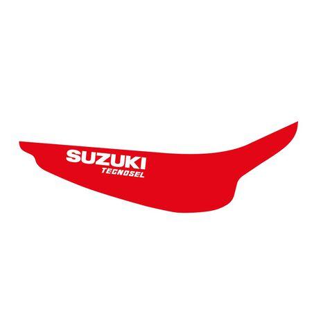 _Kit Adesivi + Copertina Sella Tecnosel Replica Team Suzuki 1998 RM 125/250 96-98 | 83V02 | Greenland MX_