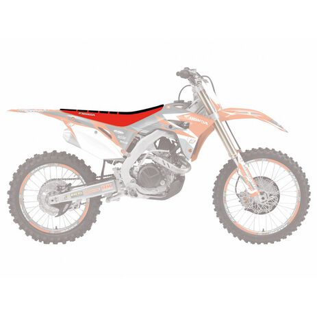 _Copertina Sella Blackbird Zebra Honda CRF 250 18-.. CRF 450 R/X 17-.. | 1148Z | Greenland MX_