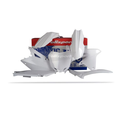 _Kit Plastiche Polisport Suzuki RMZ 450 08-15 Bianco | 90145 | Greenland MX_