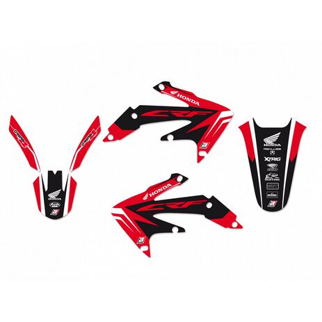 _Kit Adesivi Blackbird Dream 4 Honda CRF 450 X 04-16 | 2143N | Greenland MX_