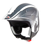 _Casco Shiro Trial K2 Grafic Nero | 000736N-P | Greenland MX_