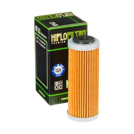 _Filtro Olio Hiflofiltro KTM EXC-F 250 14-.. SX-F 250 13-.. SX-F 350 11-..   HF652   Greenland MX_
