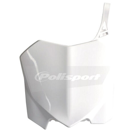 _Piastra Frontale Polisport CRF 250 10-13 CRF 450 09-12 Bianco | 8656700001 | Greenland MX_