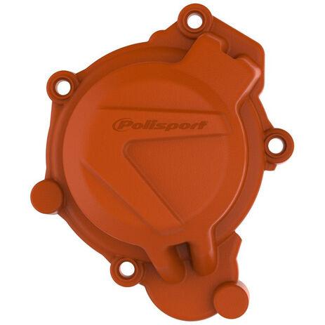 _Protezione Coperchio Avviamento Polisport KTM SX 125/150 16-18 Husqvarna TC 125 17-18 Arancione   8464100002   Greenland MX_