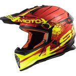 _Casco LS2 MX437 Fast Gator Rosso | 404372932 | Greenland MX_