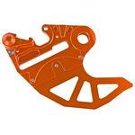 _Protezione Disco Freno Posteriore 4MX KTM EXC/SX 04-12 Arancione | 4MX-RBDG-02OR | Greenland MX_