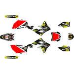 _Kit Completo Adesivi Kawasaki KX 450 F 12-15 Rockstar | SK-KX4501215RKS-P | Greenland MX_