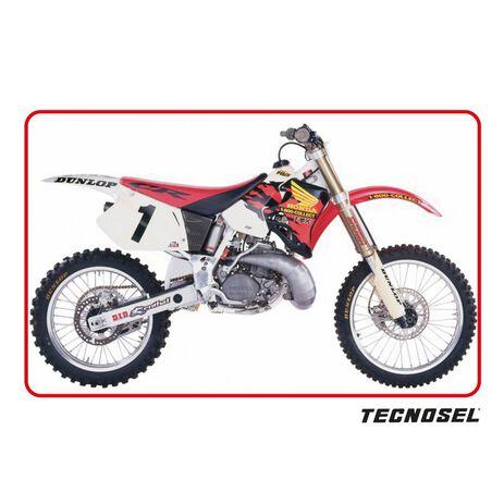 _Copertina Sella Tecnosel Replica Team Honda 1995 USA CR 125 93-97 CR 250 92-96   11V02   Greenland MX_