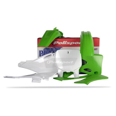 _Kit Plastiche Polisport Kawasaki KX 125/250 99-02 | 90089 | Greenland MX_