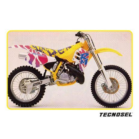 _Kit Adesivi Tecnosel Replica OEM Suzuki 1992 RM 125/250 89-92   23V00   Greenland MX_