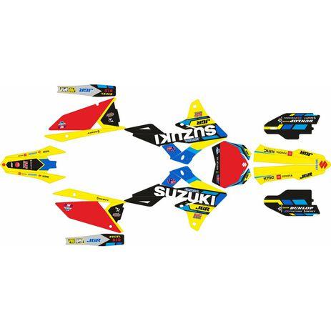_Kit Completo Adesivi Suzuki RMZ 250 19-20 RMZ 450 18-20 JGR Edition | SK-SRMZ4501820JGRR-P | Greenland MX_
