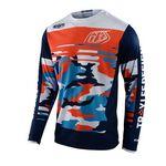 _Maglia Troy Lee Designs GP Formula Camo Blu | 307982022-P | Greenland MX_