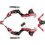 _Kit Adhesivos Completo Logo Yamaha Ténéré 700 19-.. Blanco/Rojo/Negro   SK-YTE70019LOWRDBK-P   Greenland MX_