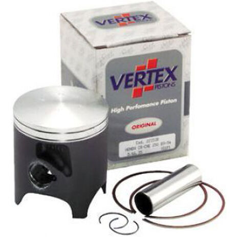 _Pistone Vertex Suzuki RM 250 98 2 Segmenti   2540   Greenland MX_