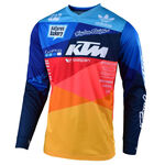 _Maglia Troy Lee Designs GP Air Jet Blu/Arancione | 30466300 | Greenland MX_