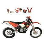 _Kit Adesivi Blackbird Replica KTM EXC 14-16 SX/SX-F 13-15 | 2538L | Greenland MX_