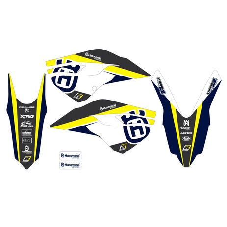 _Kit Adesivi Blackbird Dream 4 Husqvarna FC/TC 14-15 FE/TE 14-16 | 2611N | Greenland MX_