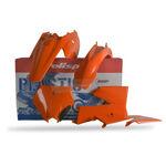 _Kit Plastiche Polisport KTM SX 85 06-12 Arancione | 90131 | Greenland MX_
