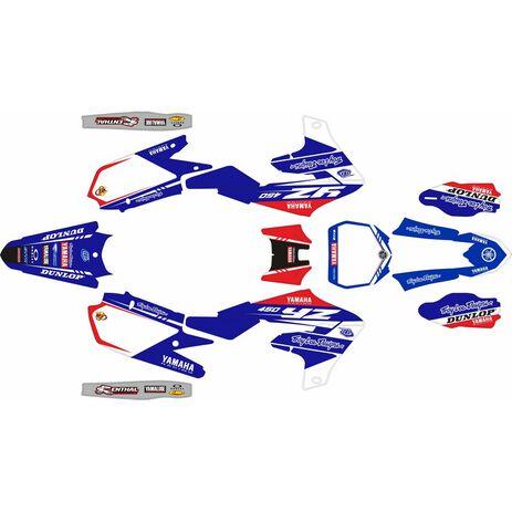 _Kit Completo Adesivi Yamaha YZ 450 F 18-20 Troy Lee Designs   SK-YYZ45F1820TROY-P   Greenland MX_