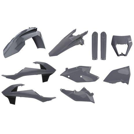 _Full Kit Plastiche Polisport KTM EXC/EXC-F 17-19 | 90889-P | Greenland MX_