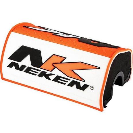 _Protezione Manubrio Neken Arancione/Bianco   0601-3739   Greenland MX_
