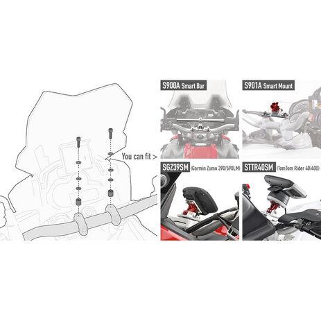 _Kit Viteria per Montare loSmart Bar S900A o Smart Mount S901A Honda/KTM/Suzuki/Yamaha/Kawasaki | 05SKIT | Greenland MX_