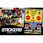 _Kit Adesivi 4MX Suzuki | 01KITA606S | Greenland MX_