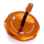 _Tappo Serbatoio Zeta Alluminio KTM SX/SX-F 85-450 13-.. Arancione | ZE87-4108 | Greenland MX_