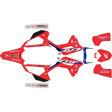 _Kit Completo Adesivi Honda CRF 450 R 2021 HRC | SK-HCRF45021HRCRED-P | Greenland MX_