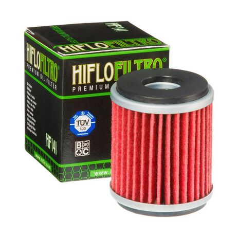 _Filtro Olio Hiflofiltro Yamaha WR 125 R 09-16 Gas Gas EC 250 F 10-11   HF141   Greenland MX_