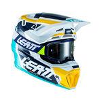 _Casco con Maschera Leatt Moto 7.5 V22 Turchese | LB1022010130-P | Greenland MX_