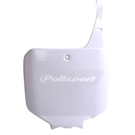 _Piastra Frontale Polisport Honda CR 125/250/500 R 95-99 Bianco | 8673000002 | Greenland MX_