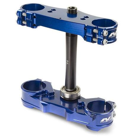 _Piastre Forcella Neken Standard Husqvarna TC/FC 125/250/350/450 15-18 (Offset 22mm) Blu | 0603-0661 | Greenland MX_