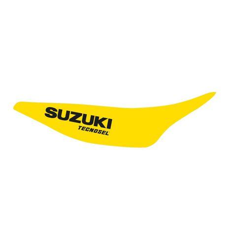 _Kit Adesivi + Copertina Sella Tecnosel Replica Team Suzuki 1993 RM 125/250 93-95 | 83V01 | Greenland MX_