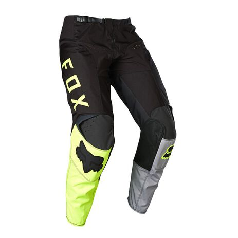 _Pantaloni Fox 180 Lovl Special Edition Nero/Giallo Fluo | 26527-019 | Greenland MX_