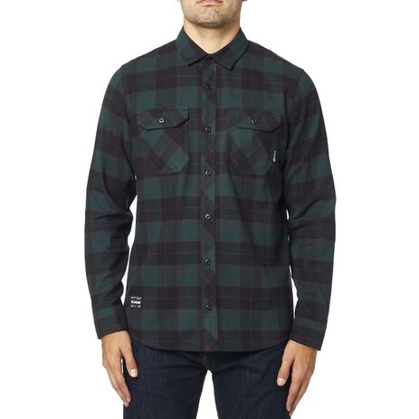 _Camicia Fox Traildust Flannel Emerald | 23826-294 | Greenland MX_